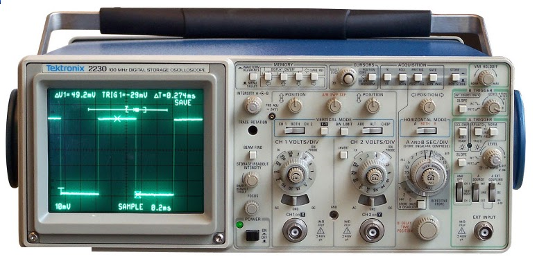 Meet Your Maker (PUBLIC welcome) w/ Lee Ackerman - Digital Storage  Oscilloscope demo - The Curious Forge